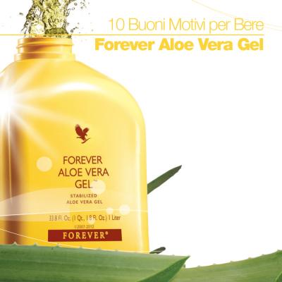 10 Buoni Motivi per Bere Forever Aloe Vera Gel